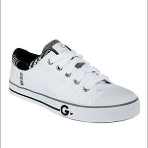 G by Guess White Oona Sneakers